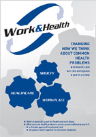 Work and Health: Changing How We Think About Common Health Problems
